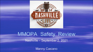 MMOPA Safety Review - 2021