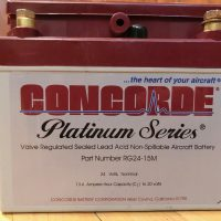 Concorde Battery RG24-15M, used only 26 hours